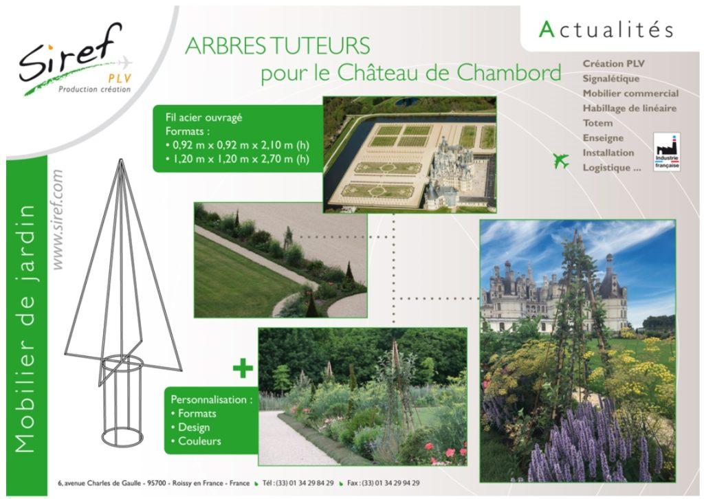 acier Mobilier de jardin métal Arbres tuteurs Décorations florales métal Pots métal Jardinière métal Mobilier urbain PLV Fil